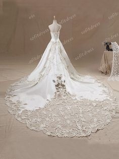 lace wedding dresses princess wedding dress ivory by sofitdress