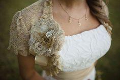Vintage Lace Shrug