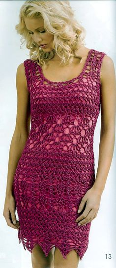 Ravelry: Sleeveless Dress by Doris Chan