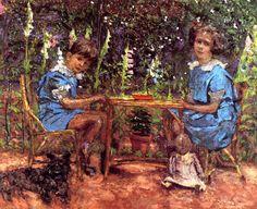 The Bassiano Children / Edouard Vuillard - 1921