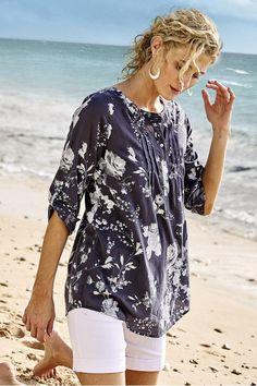 Tuberosa Top & Cami - Floral Tunic, Floral Top | Soft Surroundings