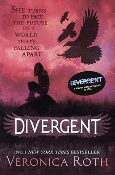 """Divergent In sixteen-year-old Beatrice Prior's world, society is divided into five factions - Abnegation (the selfless), Candor (the honest), Dauntless (the brave), Amity (the peaceful), and Erudite (the intelligent) - each dedicated to the cultivation of a particular virtue, in the attempt to form a """"perfect society."""" At the age of sixteen, teens must choose the faction to which they will devote their lives"""