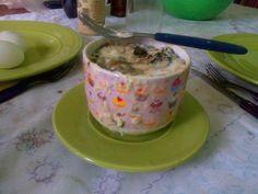 Sufle de zapallitos verdes
