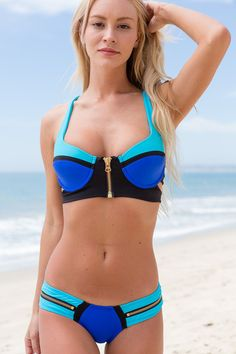 Beach Bunny - Endless Summer Top / Blue