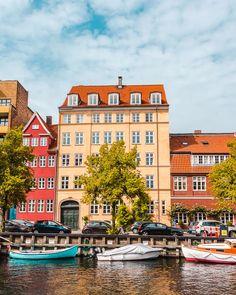 Denmark Destinations, Top Travel Destinations, Budget Travel, Places To Travel, Travel Guide, Europe Budget, Travel Hacks, Travel Ideas, Copenhagen Attractions