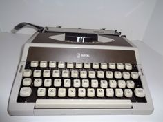 A personal favorite from my Etsy shop https://www.etsy.com/listing/244104219/royal-mercury-typewriter-with-original