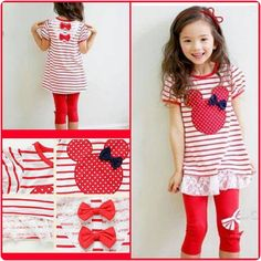 Micky Mouse Sets in Blue & Red.. click to order