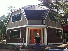 Sweet Dome house.