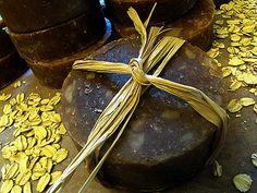 Oatmeal, milk, & honey soap:    Crisco, lard, olive, coconut, milk