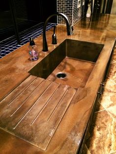 Supreme Kitchen Remodeling Choosing Your New Kitchen Countertops Ideas. Mind Blowing Kitchen Remodeling Choosing Your New Kitchen Countertops Ideas. Outdoor Kitchen Design, Diy Kitchen, Kitchen Decor, Kitchen Sinks, Kitchen Modern, Kitchen Ideas, Kitchen Cabinets, Kitchen Sink Design, Modern Sink