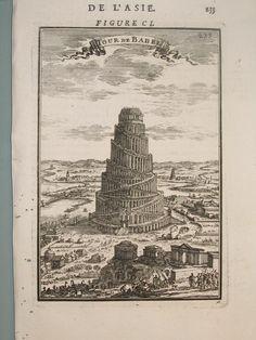 View_of_the_Tower_of_Babel,_Description_de_L'Universe_(Alain_Manesson_Mallet,_1683).jpg (768×1024)
