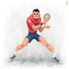 ArtStation - Ping Pong Boy!, Gop Gap ★ Find more at http://www.pinterest.com/competing