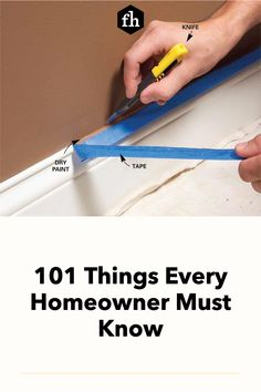 Being a homeowner has its challenges, but being a knowledgeable DIYer can make things a lot easier. Check out this incredible list of things you need to know. House Painting, Diy Painting, Buying A New Home, Paint Drying, Wire Shelving, Paint Furniture, Wet And Dry, Easy Paintings, Need To Know