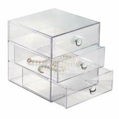 Amazon.com: InterDesign Clear Drawers: Home & Kitchen