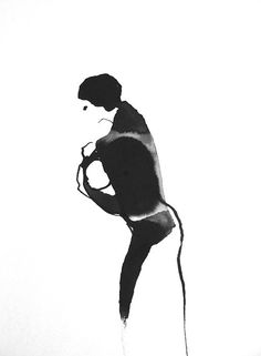 24 x 17 cm ink on paper Canson    Sylvia Baldeva®