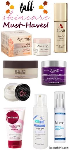 Fall skincare essentials you need to try!
