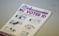 SALEM, N. (Reuters) - North Carolina will ask the U. Supreme Court to allow a state law requiring voters to show identification to stand, after an appellate court struck it down a week ago, Republican Governor Pat McCrory said on Friday. One America News, Coloured People, Voter Id, Heritage Foundation, New York Post, Supreme Court, Me On A Map, Constitution, Federal