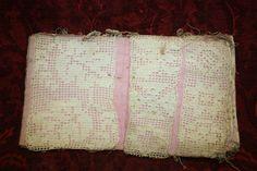 Sample Crochet Book Hand Stitched Sampler