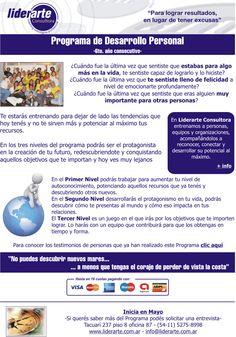 Programa de desarrollo personal 2012