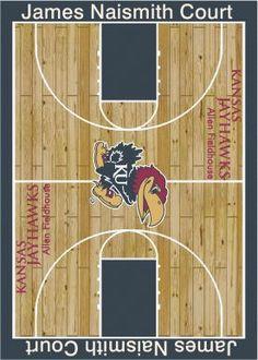 Kansas Jayhawks rug Rugsusa