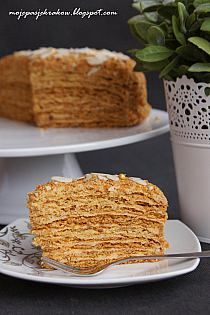 Przekładaniec herbatnikowy For… Sex In A Pan Recipe, Honey Cake, Pumpkin Spice Latte, Amazing Cakes, Banana Bread, French Toast, Oreo, Cooking Recipes, Cheese