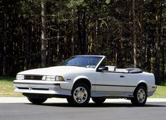 1989 CHEVY CAVALIER Z24 CONVERTIBLE 2.8 F1, 6CYLINDER