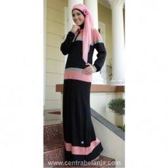 Baju Gamis Trendi A117 Model Terbaru Modis, Baju Gamis Trendi Ukuran Fit L, gamis Murah Grosir dan Eceran Busana Pakaian Wanita, Baju Muslim Model Terbaru