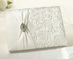Lillian Rose Vintage Lace Guest Book – Cream – Home Decor Gift Packages: Wedding gift Wedding Cards, Wedding Favors, Wedding Invitations, Wedding Decorations, Wedding Albums, Wedding Ideas, Wedding Wishes, Trendy Wedding, Wedding Stationery