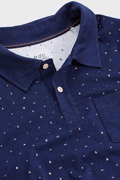 EDC / Polo en jersey de coton