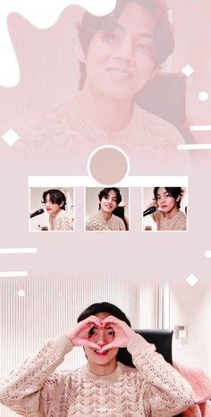 V from vlive 💞 Bts Aesthetic Wallpaper For Phone, V Bts Wallpaper, Wallpaper Samsung, Foto Bts, Daegu, Bts Bangtan Boy, Bts Boys, K Pop, Saranghae