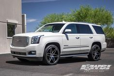 """2015 GMC Yukon Denali with 24"""" Koko Kuture Wheels by Wheel Specialists, Inc. in Tempe AZ . Click to view more photos and mod info."""