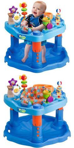 48e9c6b18 Infant Baby Activity Walker Jumper Bouncer Walk Stand Activity Seat ...