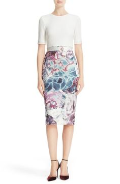 Ted Baker London Illuminated Bloom Sheath Dress available at #Nordstrom