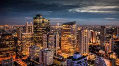 Seoul City South Korea 2014 Vs Bangkok Thailand