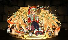 Sanctuary Messenger, Archangel stats, skills, evolution, location | Puzzle & Dragons Database