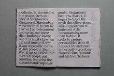 Shentonista on Editorial Design Served