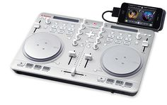 Spin2 is an all-in-one DJ controller. Spin2 plug and plays with Algoriddim djay on your Mac, iPhone and iPad.