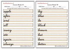 Handwriting Analysis – Handwriting Is Brain Writing – Improve Handwriting Cursive Handwriting Sheets, Cursive Writing Practice Sheets, Cursive Writing Worksheets, Cursive Alphabet, Improve Handwriting, Letter N Words, Cursive Letters, Writing Words, Writing Cursive