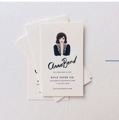 Rifle Paper Co. business card