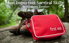 The Most Important Survival Skills - learn what you need to be prepared to survive in emergency situations!