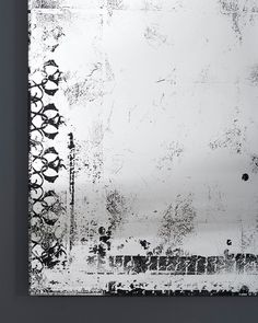 Buy Deknudt Antique Hall Mirror Distressed Silver Finish online with Houseology's Price Promise. Full Deknudt collection with UK & International shipping. Hall Mirrors, Hallway Mirror, Diy Mirror, Antique Mirror Glass, Antiqued Mirror, Decorative Mirrors, Industrial Mirrors, Industrial Style, Mirror With Hooks
