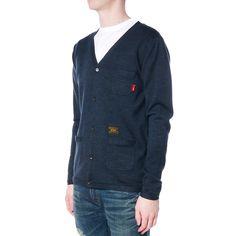 Cardigan L/S / Sweater. CNR Navy