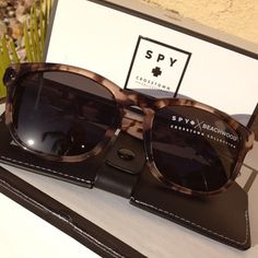 Spy Optic - Crosstown Collection http://www.bunkeronline.com/spy-crosstown-collection-sunglasses.html
