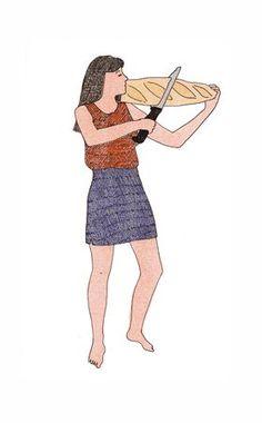 joueuse de pains - Marion Fayolle (France)