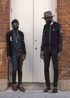 The best menswear style out there! Sam Lambert and Shaka Maidoh of Art Comes First