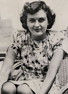 Discovery: Eva Braun who married Adolf Hitler just days before they committed suicide - farewell letters.