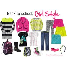 Cute back to school clothes for girls
