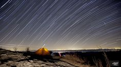 Geminid Meteors on the Blue Ridge Parkway