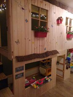 IKEA KURA double decker playhouse | IKEA Hackers
