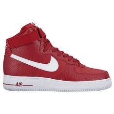 Nike Air Force 1 High-Men s-Basketball-Shoes-Gym Red White White -sku 15121606 6c2aebc74
